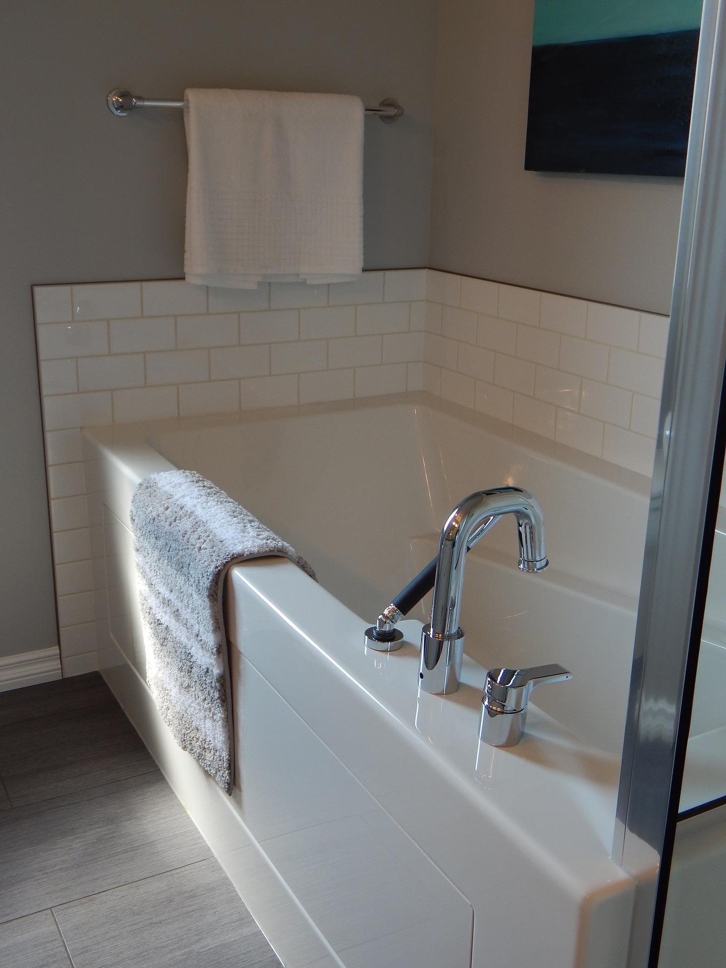 Installation complète de salle de bain à neuf