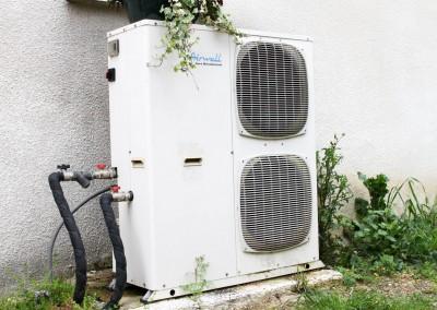 Installation d'une pompe à chaleur pour un chauffage par le sol