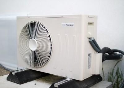 Bloc extérieur pour un chauffe eau thermo dynamique