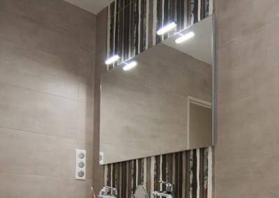 Rénovation de l'électricité dans le cadre de l'installation d'une salle de bains