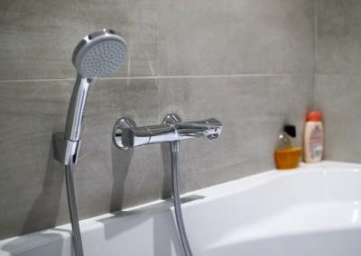 Installation d'une salle de bains