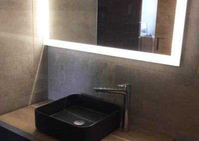Aménagement d'une salle d'eau dans une chambre parentale à  Nages-et-Solorgues (Gard)